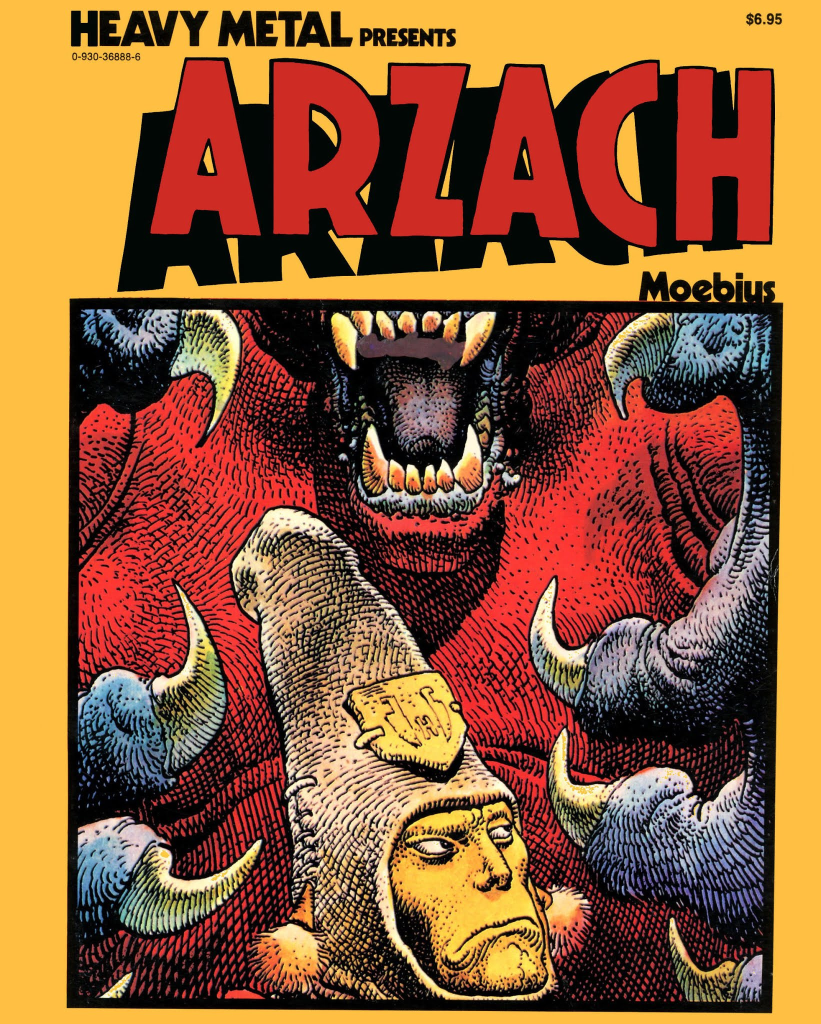 Arzach TPB Page 1