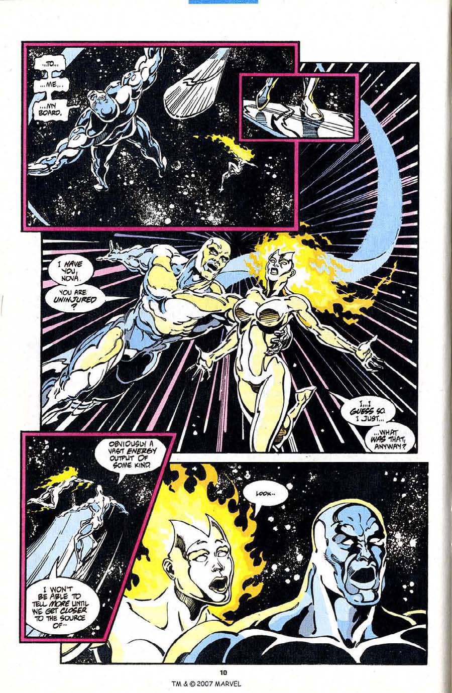 Read online Silver Surfer (1987) comic -  Issue #98 - 12