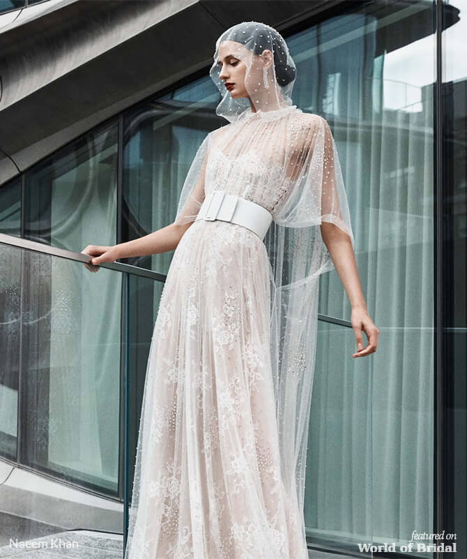 ae2c1f0c24acc Naeem Khan Fall 2019 Wedding Dresses - World of Bridal