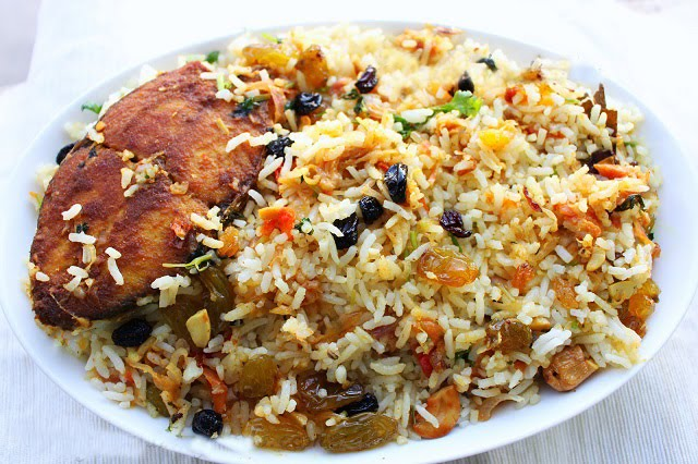Fish-meal-bhinnasbadera-biryani-video-recipe