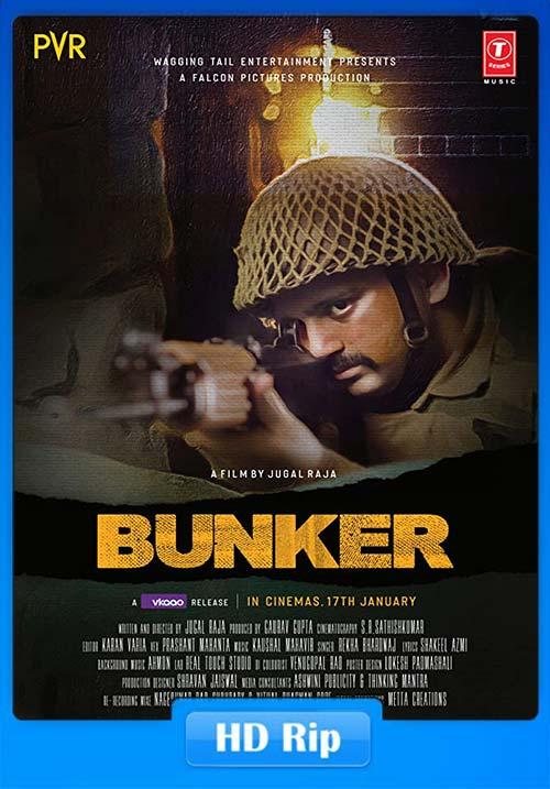 Bunker 2020 Hindi 720p WEBRip x264 | 480p 300MB | 100MB HEVC Poster