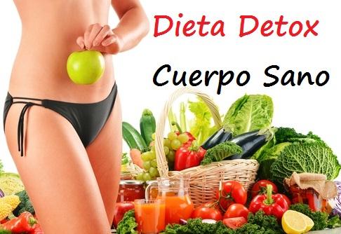 dieta para adelgazar y desintoxicar el cuerpo