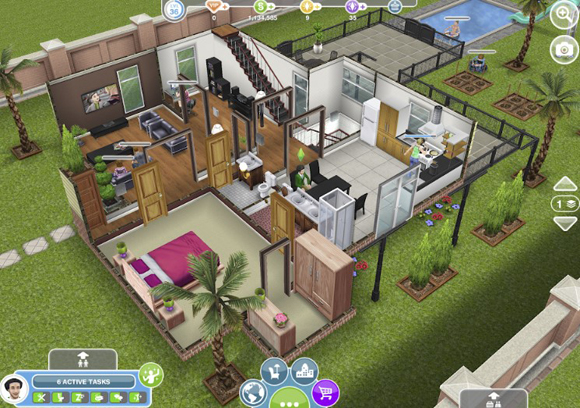 Download The Sims FreePlay Mod Apk v5.45.0 Unlimited Money Simoleons/Points Android Terbaru