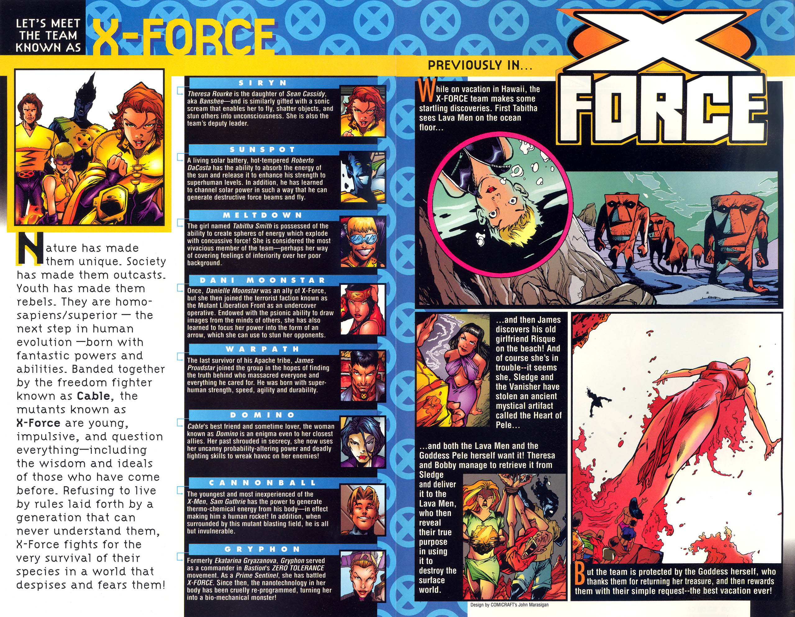 Read online X-Force (1991) comic -  Issue #82 - 3