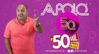 Promoção Apolo Calçados Aniversário 50 Anos