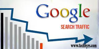 google search traffic