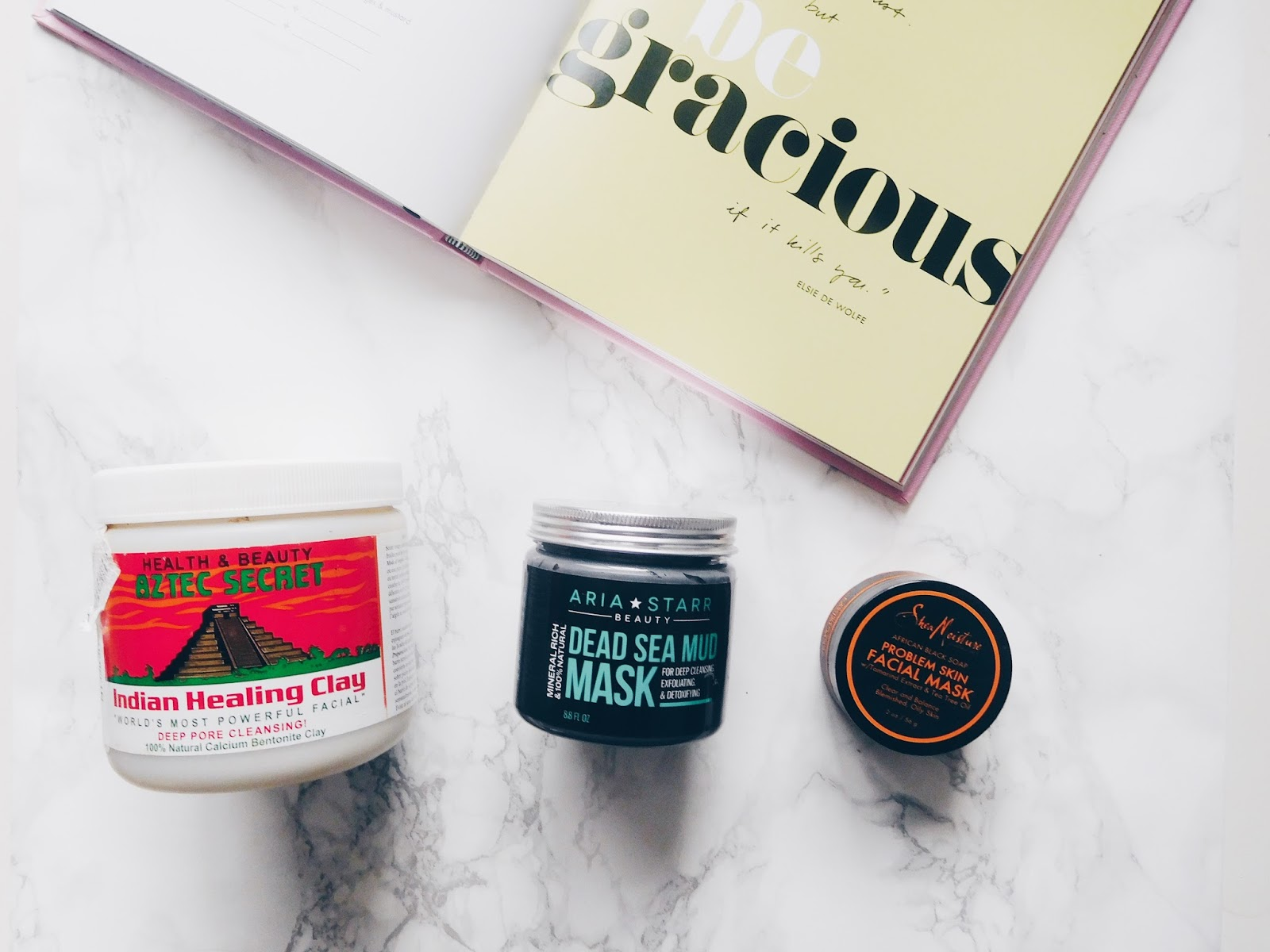 Three Bad Skin Day Face Masks