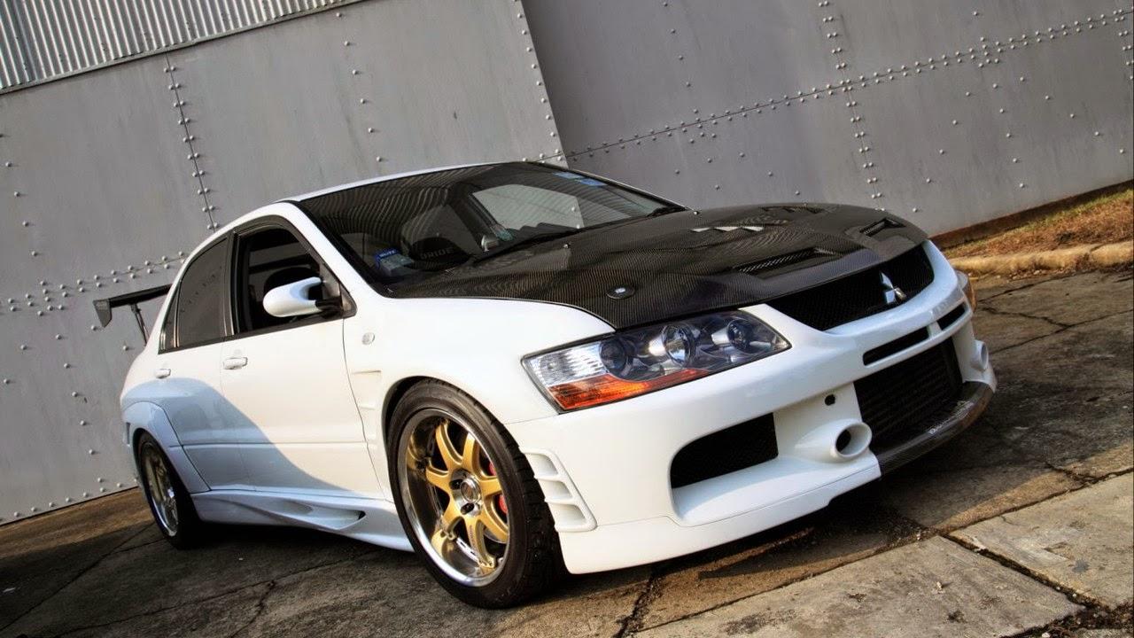 Modifikasi Mobil Mitsubishi Lancer Evolution