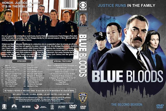Capa DVD Blue Bloods Segunda Temporada Completa