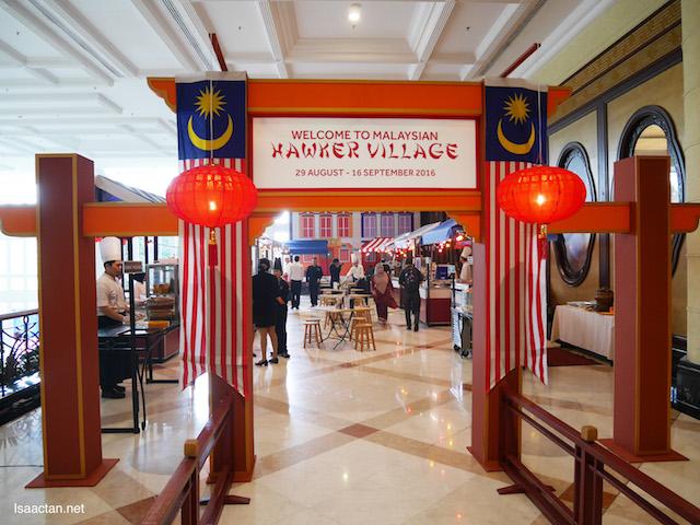 Malaysian Hawker Village @ Putrajaya Marriott Hotel