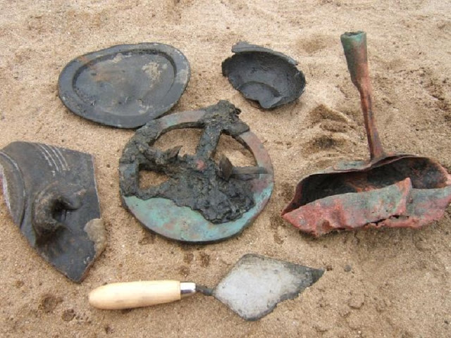 Treasure-filled Portuguese shipwreck found in desert coastline of Namibia