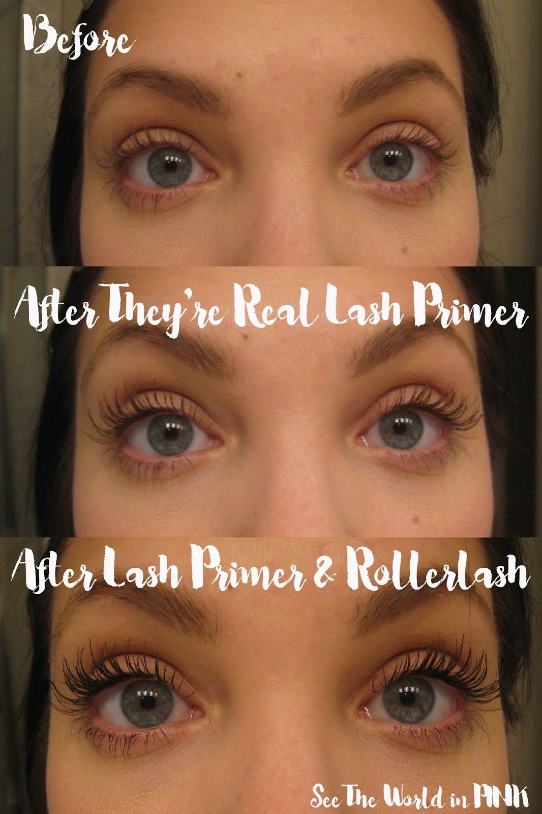 Makeup Product Review - NEW Benefit Cosmetics They're Real! Tinted Lash Primer