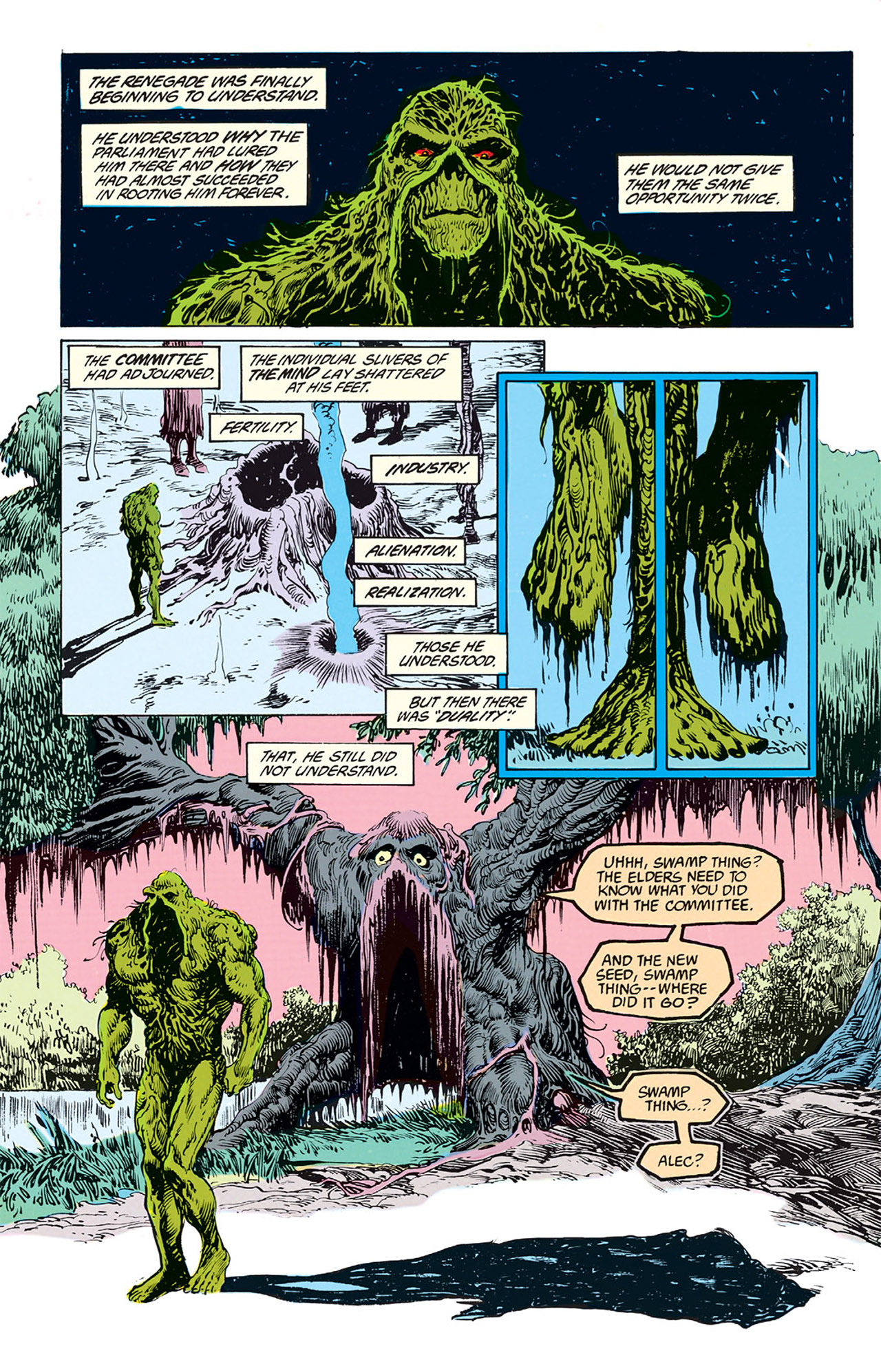 Swamp Thing (1982) Issue #69 #77 - English 19