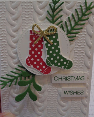 Stampin' Up! UK Independent  Demonstrator Susan Simpson, Craftyduckydoodah!, Hang Your Stocking, September 2017 Coffee & Cards Project, Supplies available 24/7 from my online store,