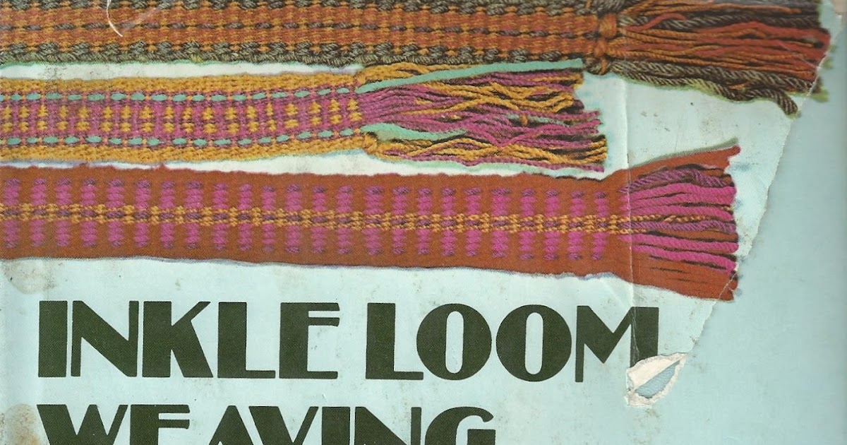 Inkle weaving books by rachel