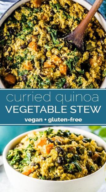 curried quinoa vegetable stew