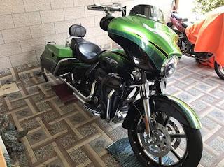 BANDAR MOGE BEKAS : Harley Streetglide CVO 2011