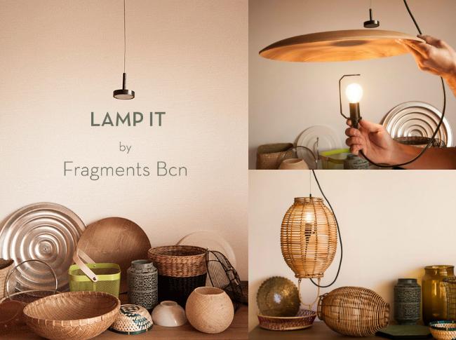 SORTEO Lamp it! La única lámpara que despierta tu creatividad.