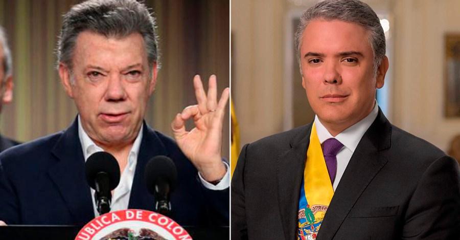 Santos propone a Duque un acuerdo nacional ante crisis por la pandemia