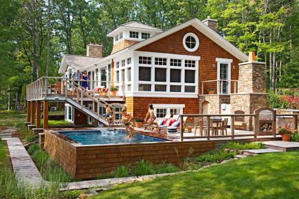 Stylishbeachhome Com Luxurious Pools