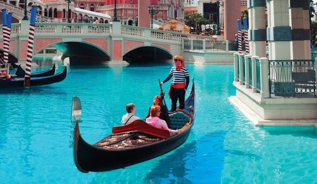 The Venetian Hotel Cassino em Las Vegas