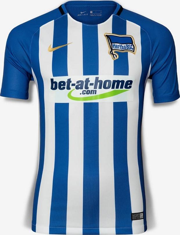 27e27f3fe9 Nike apresenta as novas camisas do Hertha Berlin - Show de Camisas