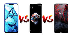 Who is better in Oppo A5, Redmi Note 5 Pro, and Nokia 6.1 Plus?