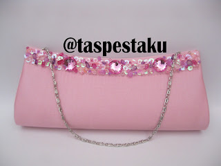 Tas Pesta Handmade Baby Pink Unik dan Cantik
