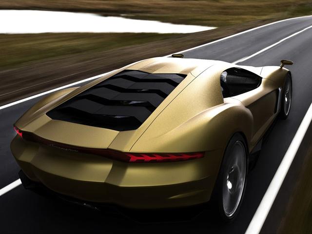 Design Concept Lamborghini Masa Depan  Info  Artikel Otomotif Terbaru Daftar Harga
