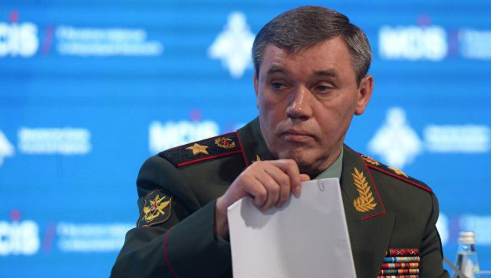Kementerian Pertahanan Rusia memberi tahu tentang surat rahasia kepala Staf Umum ke AS