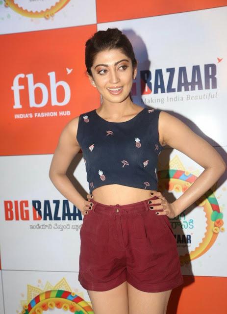 Pranitha Subash At Big Bazaar Navratri 2017 Collections Launch