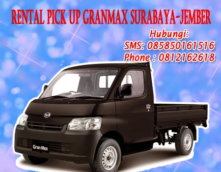 Sewa-rental Pick Up Grandmax Surabaya-Jember