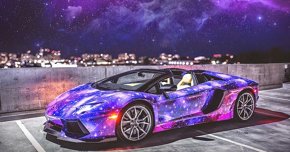 Lamborghini Aventador Roadster Galaxy Sonijem