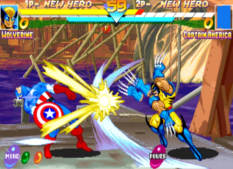 Game Marvel Super Heroes
