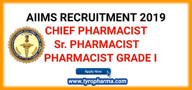 AIIMS Recruitment 2019 - Apply for Pharmacist job at AIIMS Bhopal   06 posts