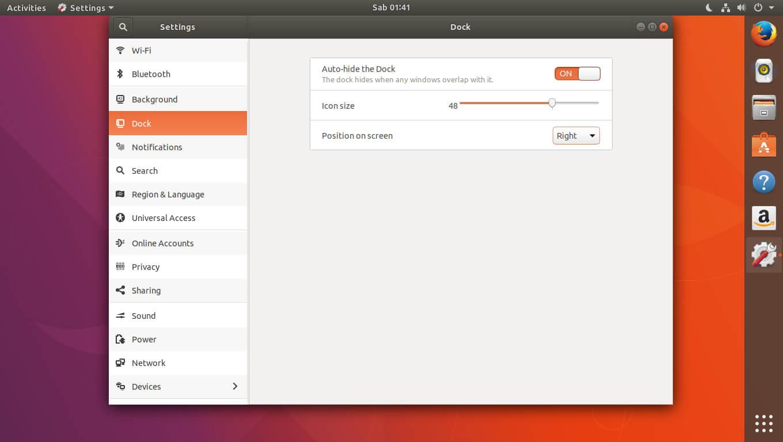 Cara Mengganti Posisi Taskbar di Ubuntu 17.10