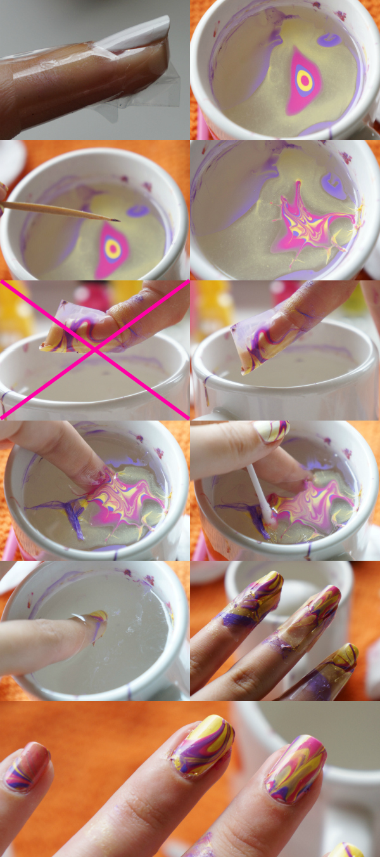 Verrassend DIY Nail Art | Water marble voor beginners - Beautyill UB-66