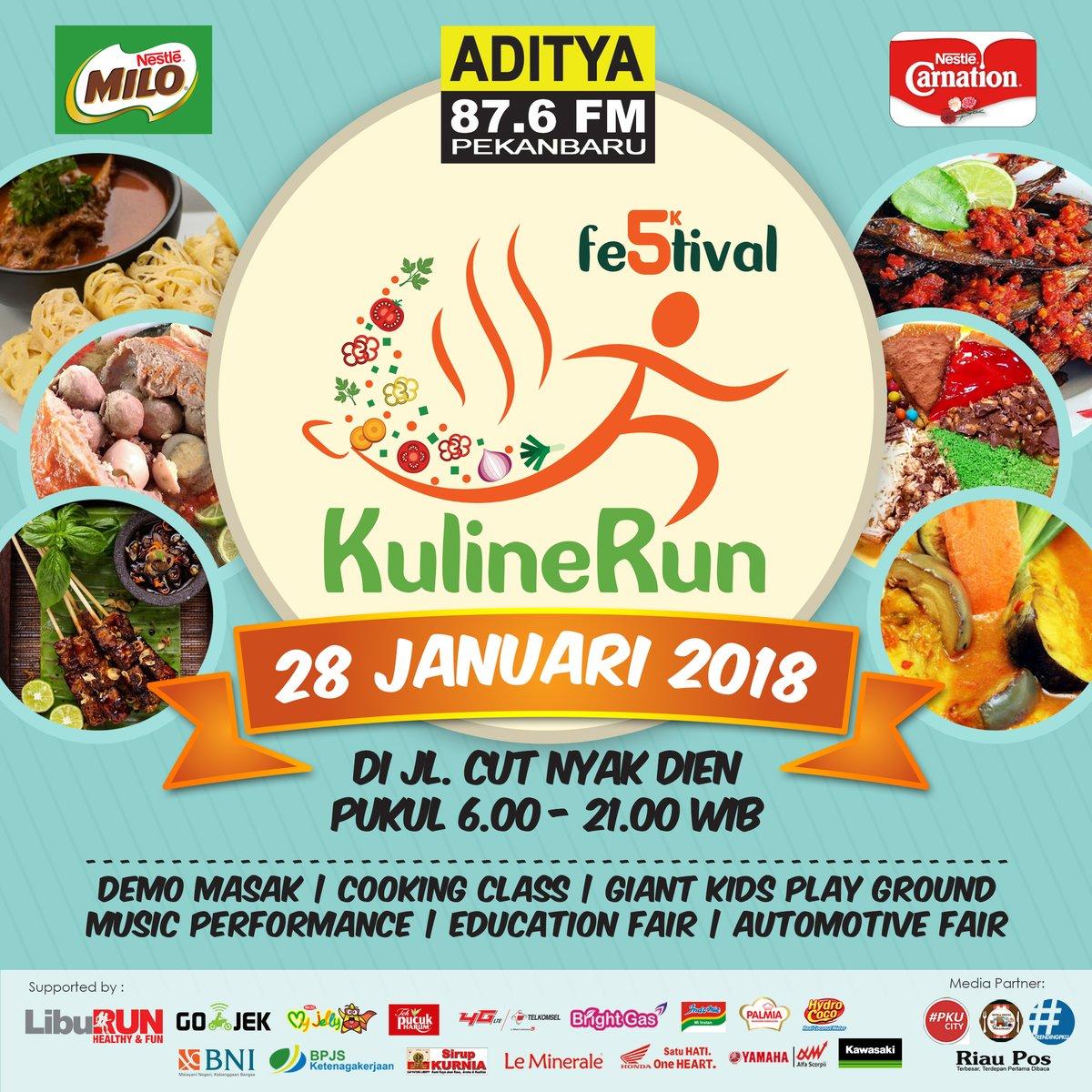 Aditya FM - Festival KulineRun • 2018