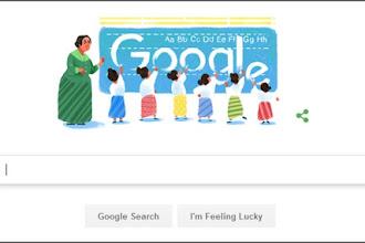 Google Doodle Hari ini, 4 Desember 2016, Dewi Sartika