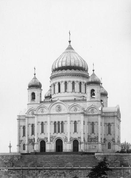 «Взрыв Храма Спасителя явился высшей степенью унижения русского народа»