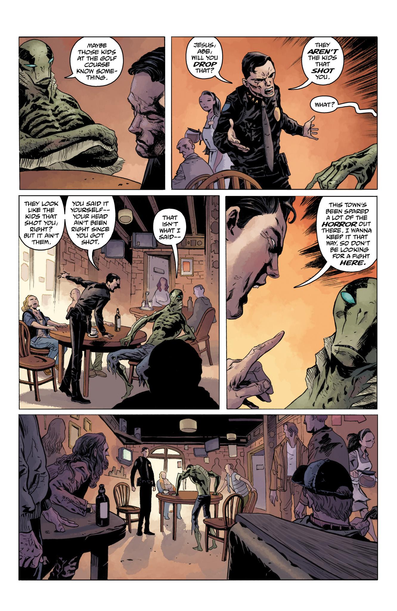 Read online Abe Sapien comic -  Issue #10 - 22