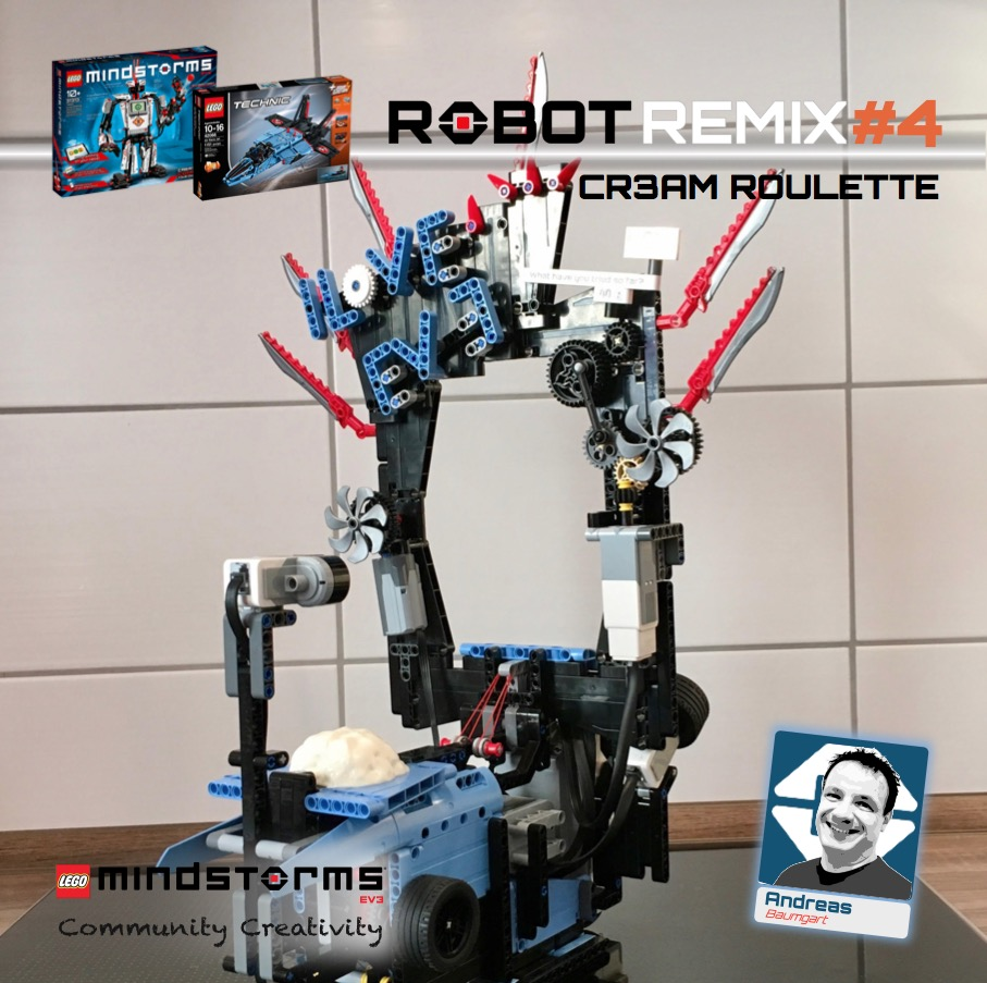 ROBOT REMIX #4 | The NXT STEP is EV3 - LEGO® MINDSTORMS® Blog