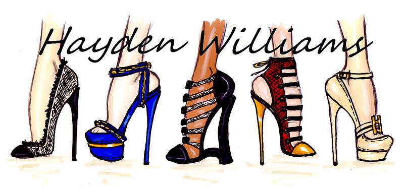 hayden williams fashion illustrations august 2012