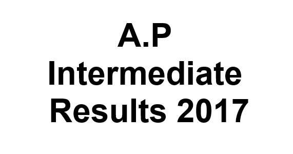 AP Intermediate Results 2017, Andhra Inter 1st/2nd Year