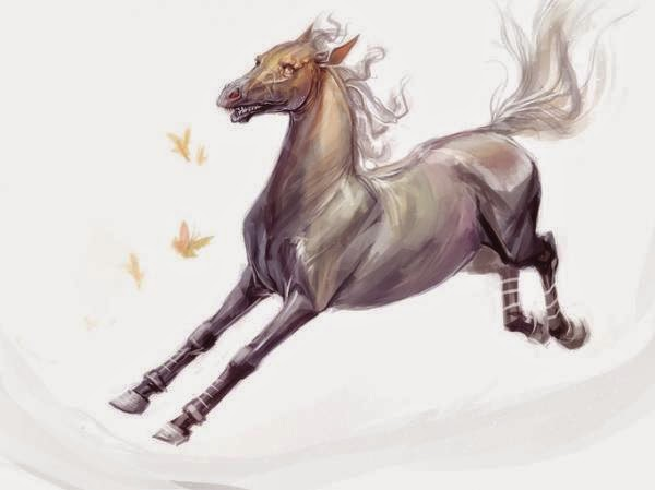15 Inspiring Horse Digital Paintings By Snow Skadi