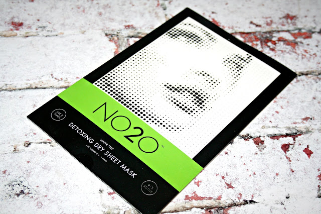 NO2O Dry Sheet Detoxing Treatment Masks