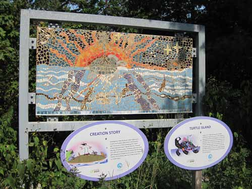 The Creation Story Mosaic