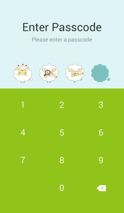 Fluffy Sheepy Sheep