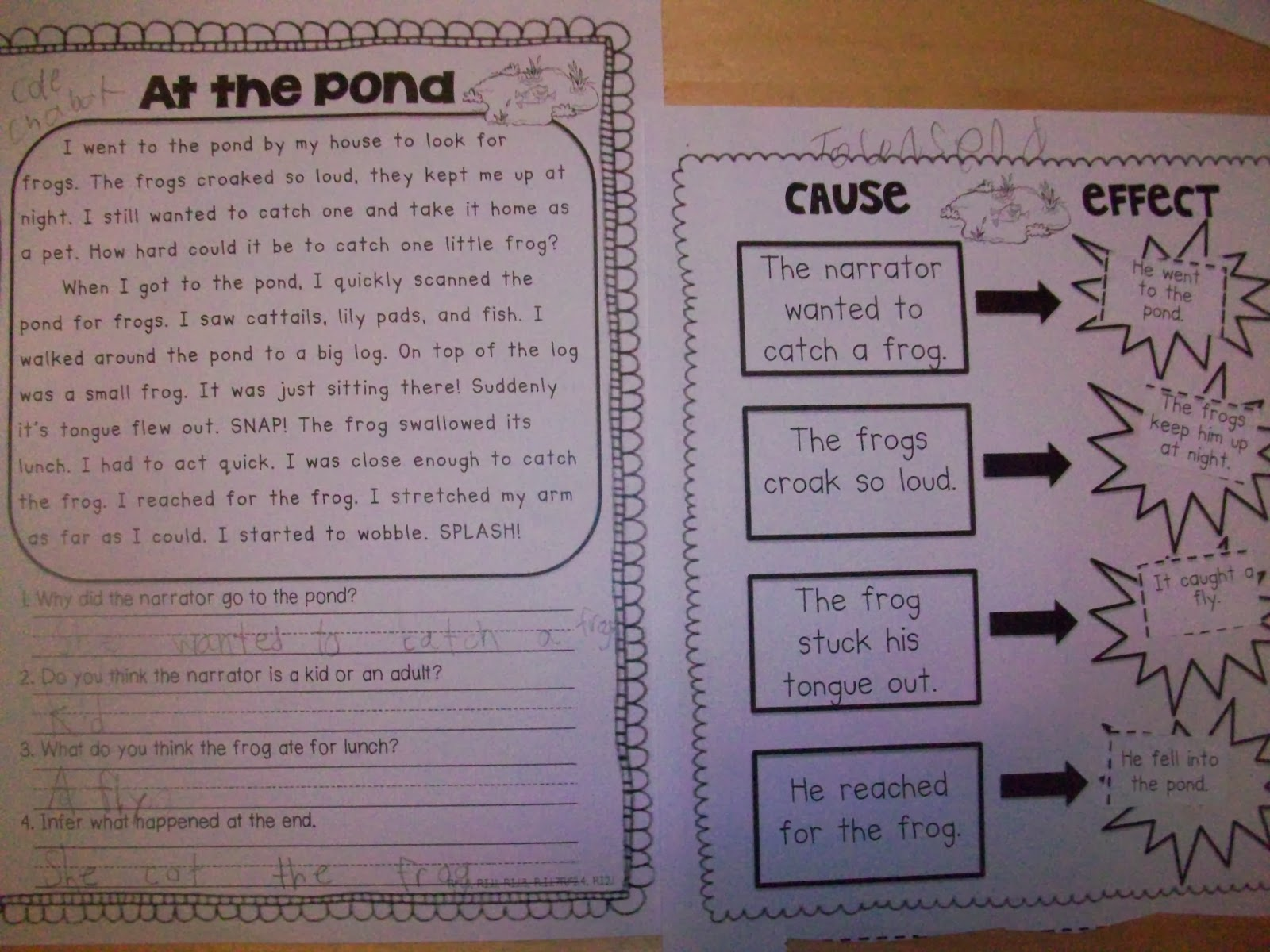 Sarah S First Grade Snippets Reading Passages And Comprehension Activities For The Whole Year
