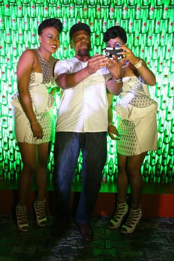 6 Grammy winning DJs, Black Chiney & DJ Snoop Da Damaja shut down Club Quilox for Heineken Green Light party